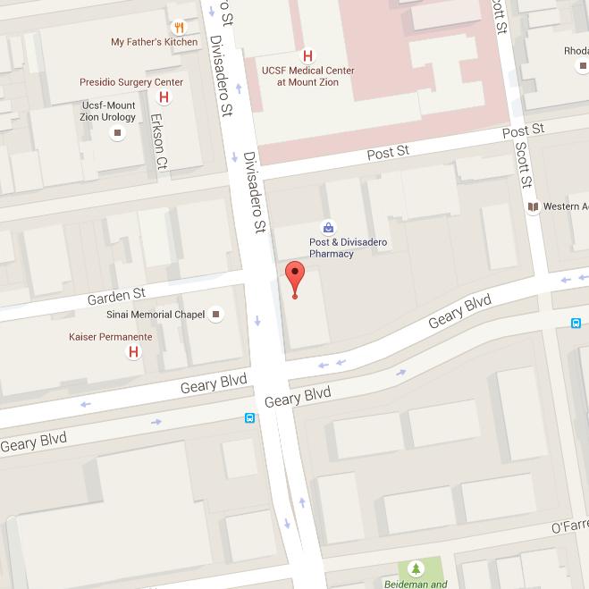 Visit SFGI from Marin County Oakland Berkeley Palo Alto the
